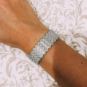 Silver Bracelet! Goes with Everything!